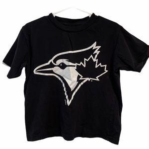 Toronto blue Jays black 100% cotton Tshirt 4